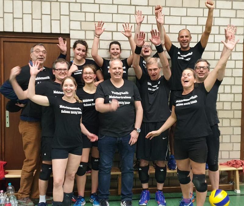 20200227 Aufstieg TuS Bothfeld - Volleyball Hobby Mixed V